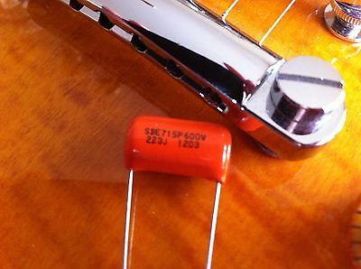 .022uf 600V Sprague 715P Orange Drop Capacitor - Guitar Tone Caps