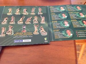 Ashes action pin collection collectible cricket fans !!!!! Port Macquarie Port Macquarie City Preview