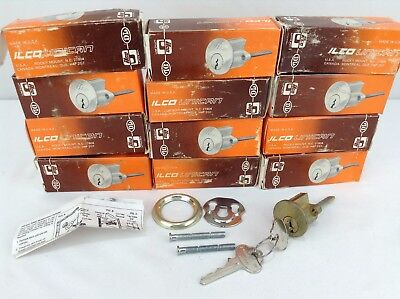 Lot Of 12 Ilco Unican Cylinder Lock
