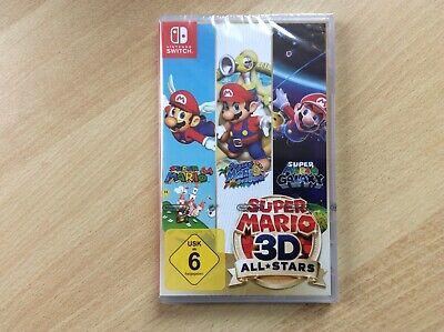 Super Mario 3D All Stars,Nintendo Switch,Neu,OVP!,Deutsch!