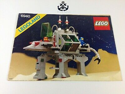 Lego Vintage Classic Space Alien Moon Stalker Instructions For Set 6940-1