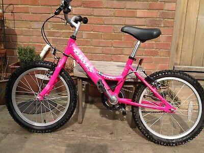 Dawes Lottie Girls bike, 18 inch wheel, pink