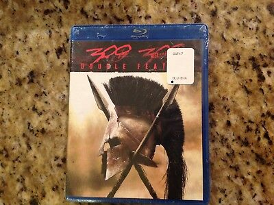 Double Feature  300   300  Rise Of An Empire  Blu Ray  2 Disc New Authentic Us
