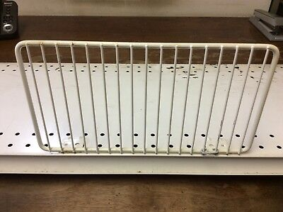 Gondola Shelf Fence Divider 6 X 11 White 20 Pcs