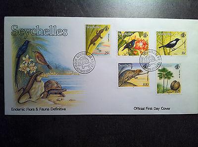 FDC Seychellen Ersttagsbrief von 1993