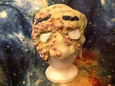 Cool Half Masks ( Zombie BOILS postules Halloween half face mask Creepy cool horror latex)