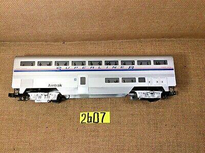 Aluminum Passenger Coach - Amtrak SUPERLINER #34102  Aluminum Passenger Coach  O Gauge