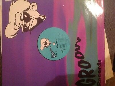"Karma-Ganesha 12"" Trance Vinyl 1995 Groovy Records Belgium Groove Solution"