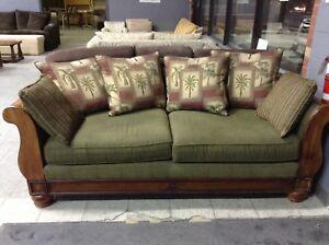 Green Sofa @HFHGTA NY ReStore