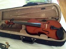 VIOLIN 4/4 WITH HARD CASE AND CHIN REST Fig Tree Pocket Brisbane North West Preview