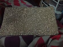 Silver beaded clutch bag Arncliffe Rockdale Area Preview