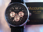 Accurist Wristwatches with Chronograph