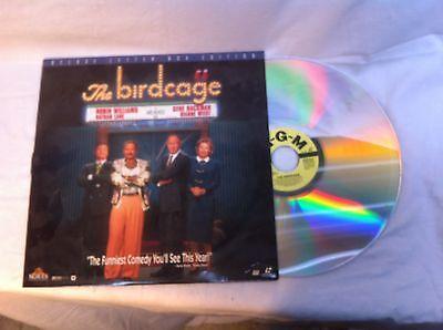 The Birdcage  Large 12IN Diameter Lazer Disk Movie