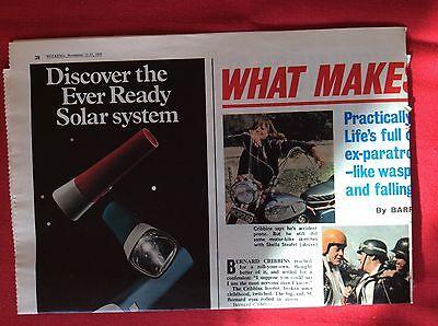 m2c ephemera 1972 picture article bernard cribbins