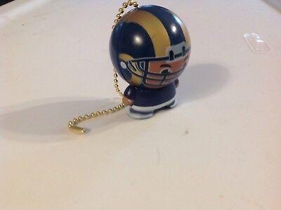 Handmade St Louis Rams Ceiling Fan / Light Pull - ST LOUIS RAMS - NFL ()