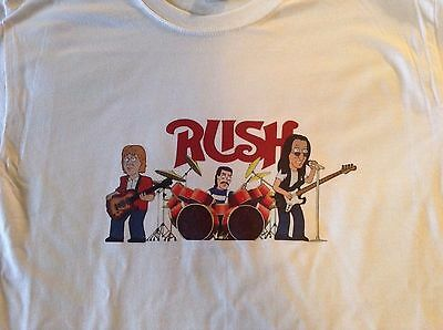 RUSH Family Guy T-Shirt  Must see! Simpsons