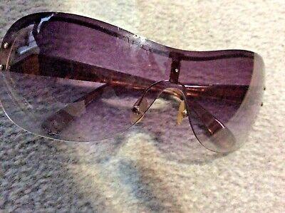 Marc by Marc Jacobs large sunglasses. Purple lense, brown frames