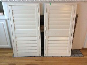 California Shutters- set of two
