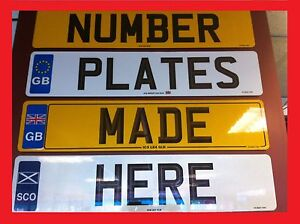 Make-Your-Reg-Replacement-Car-Number-Plates-Registration-plates-Show-Plates