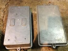2 Diecast Aluminium electrical junction boxes - heavy duty. Lane Cove West Lane Cove Area Preview