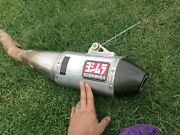 Yoshimura CRF250R 2012 exhaust muffler Belmont Geelong City Preview