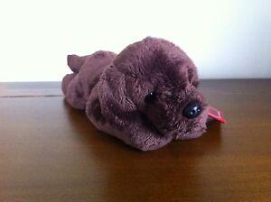 RUSS Yomiko Classics Chocolate Labrador Dog Soft Plush Toy Small Called Kenrich