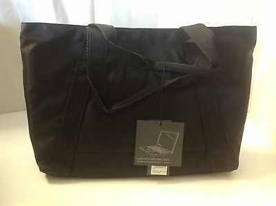 Kenneth Cole Top Zip Computer Rock Tote Laptop Portfolio Black New 537255CB (Top Zip Computer Portfolio)