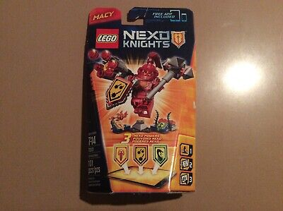 LEGO Nexo Knights ULTIMATE MACY 70331 Minifigure Castle Sealed NEW