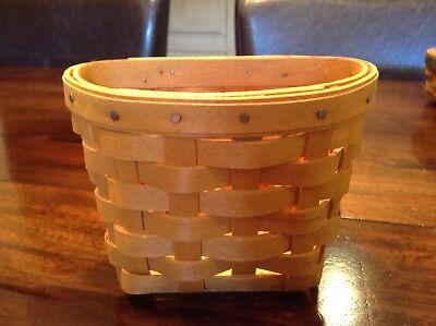 Longaberger 1999 Small Hanging Basket