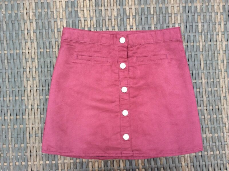 Childrens Place Burgundy Skirt w/Adjustable Waist Size 6x/7