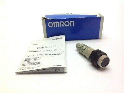 Omron E3f2-ds10c4-p1 Photoelectric Switch 10-30v Dc