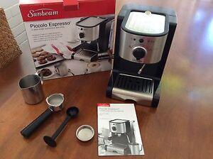 Sunbeam Piccolo Espresso machine Mosman Mosman Area Preview