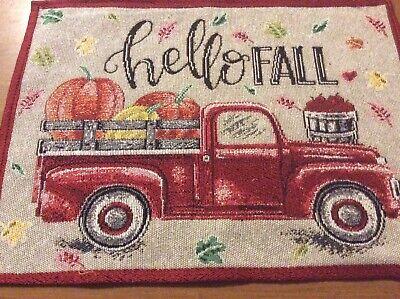 Placemats- Red Truck Placemats-SALE ()