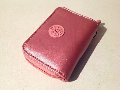 "Kipling Tops Mini Wallet ""Flourishing Pink Metallic"" New with Tag"