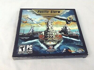 Pacific Storm (PC, 2006) CD-ROM Video Game ()