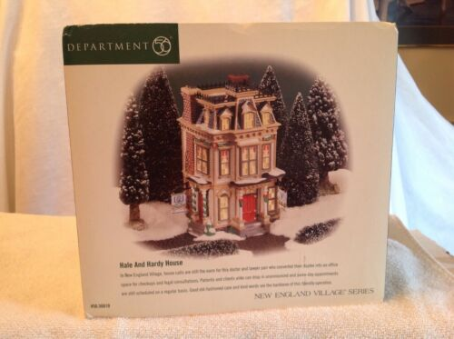 """Dept. 56 """"Hale And Hardy House""""."""