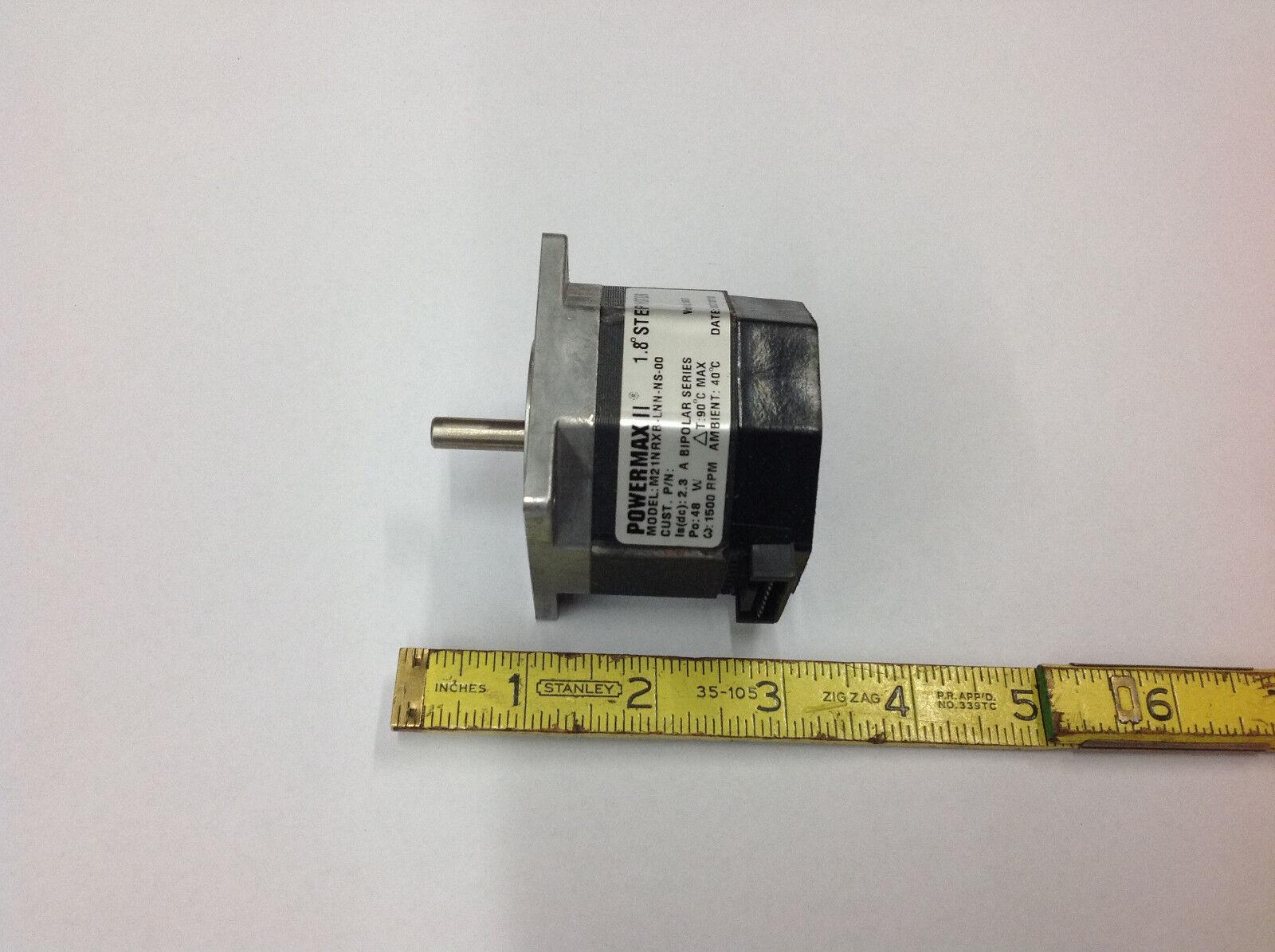 # M21NRXB-LDN-NS-00 1500 RPM New Pacific Scientific Powermax II 1.8 step motor