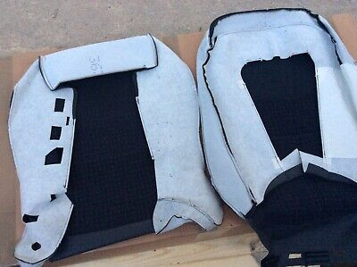 Rover 45 2003-04 LH front seat covers Puma Black check pattern HCA001090PNR