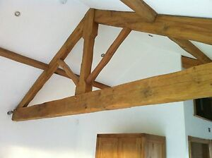Wooden Beam Feature Roof Truss