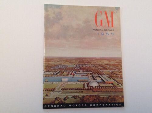 General Motors Annual Report 1955