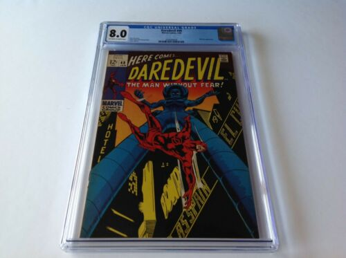 DAREDEVIL 48 CGC 8.0 STILT MAN MARVEL COMICS
