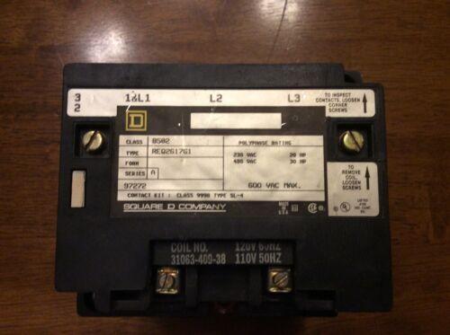 Square D 8502 Nema Size 2 Contactor