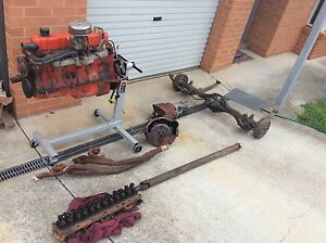 Complete Holden 6 cylinder Drivetrain 3.3 engine, 202, 161, suit EH HR Queanbeyan Queanbeyan Area Preview