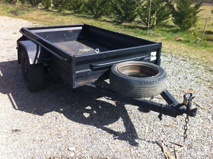 7x4 Box Trailer with rego City North Canberra Preview