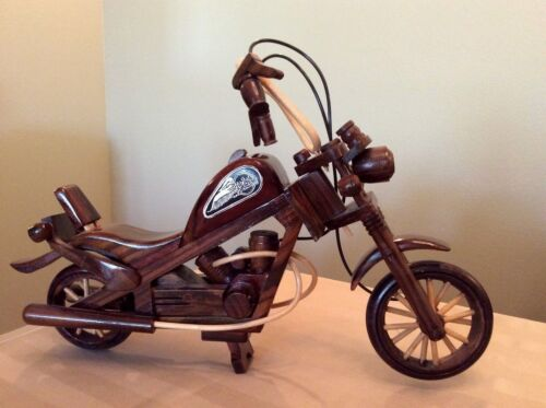 "Handmade Harley Davidson Motorcycle Exquisite Model 17""X12"""
