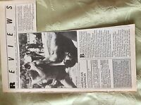 A1t Ephemera 1980s Film Review American Warrior Michael Dunikoff Steve James -  - ebay.co.uk