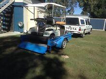Yamaha golf cart Electric &Tilt trailer Nanango South Burnett Area Preview