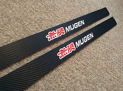 Honda Civic EP carbon fibre door sill Mugen Type R 30th Anniversary kick plates