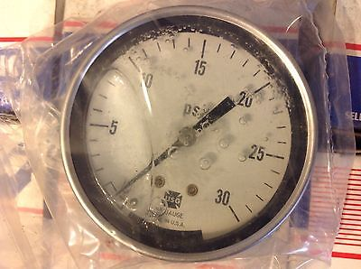 Pressure Gauge 0-30 Psi