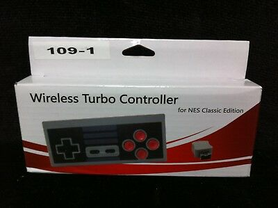 New Nintendo 2 4Ghz Wireless Turbo Controller Gamepad For Nes Classic Edition